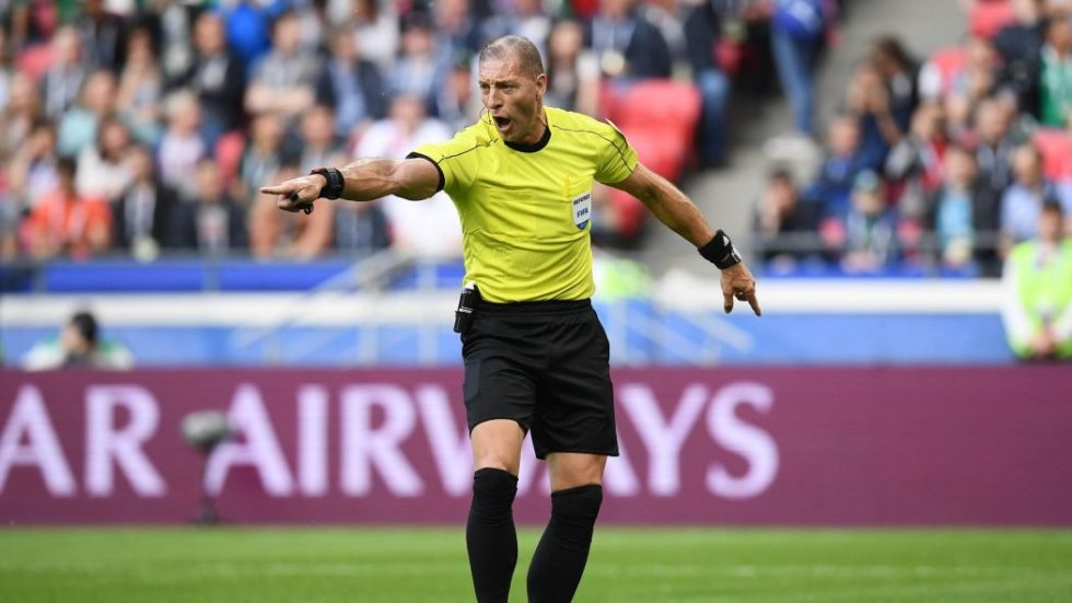 Питана верно не удалил Йоргенсена в матче Хорватия - Дания
